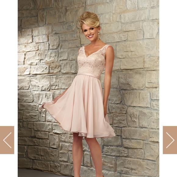28a80b537f09 Navy Blue Mori Lee Bridesmaid Dress Style: 31054. M_5b6f374e8158b5ef0d91cf8e